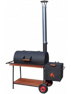 Смокер, мангал, гриль-барбекю и печь под казан СМ40