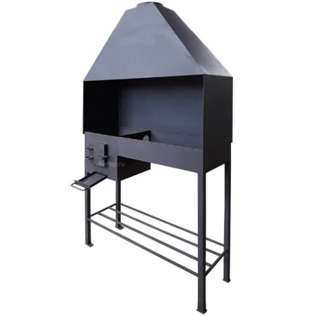 Мангал профессиональный сталь 4 мм