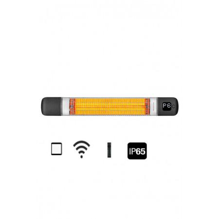 Карбоновый обогреватель Luxeva SMART 2500-WL black