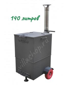 """Печь для сжигания мусора """"Инферно"""" объем 140 л"""