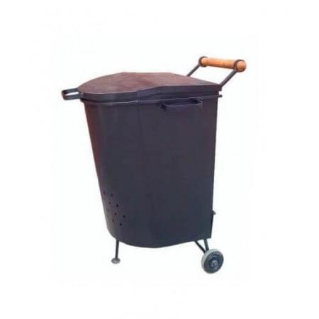Печь для сжигания мусора МД