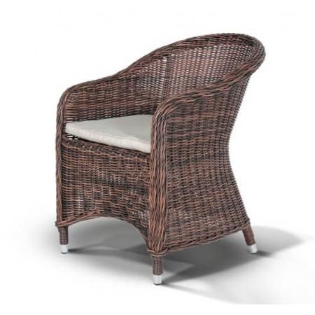 Кресло Равенна темно-коричневое
